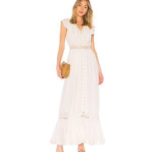 House of Harlow 1960 x REVOLVE Mora Dress cream